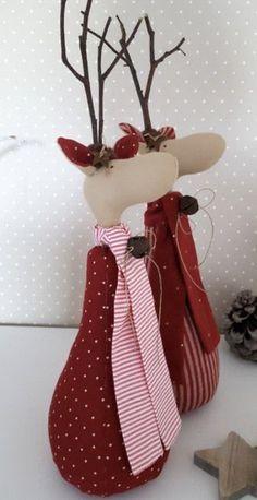 Christmas Moose, Christmas Sewing, Christmas And New Year, Christmas Stockings, Christmas Crafts, Christmas Decorations, Holiday Decor, Sewing Toys, Scandinavian Christmas
