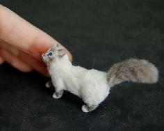 """OOAK Dollhouse Realistic Miniature 1:12 ♥ Birman Cat ♥ Handmade Sculpture"" How fantastic is this !"