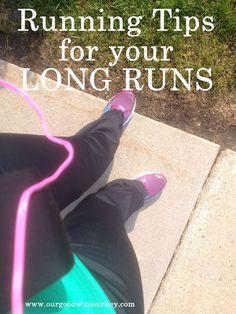5 running tips for starting to run long runs. #running #distance