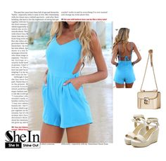 Sheinside II/17 by nura-mehmedovic on Polyvore featuring polyvore, fashion and style