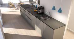 Kitchen for client, Norway - 3d Illustrations, Norway, Corner Desk, Kitchen Cabinets, Interior, Furniture, Home Decor, Corner Table, Decoration Home