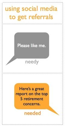 How financial advisors can use social media to get referred. #Pinterest #FA #finserv