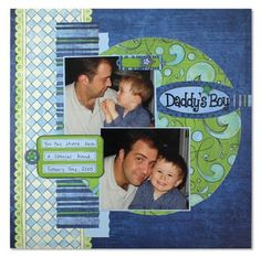 Creative Memories Project Center - Traditional: Father's Day Project Idea of the Day - June 18, 2010
