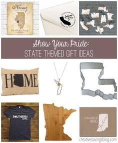 Be proud of your state and help friends represent theirs with 9 awesome state pride gift ideas that are adorable as they are trendy! All cost less than $25 and make great gifts for new homeowners!