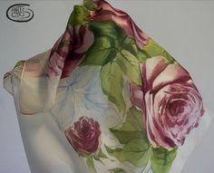 Pañuelo de cuello de seda natural 100%  Pongé 06 por Artodos