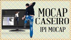 MOCAP Em Casa Para Jogos e Filmes Com IPI MOCAP Motion Capture, Games, Movies, Houses