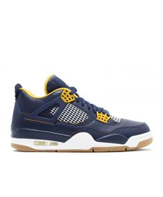 super popular ab096 72cfa Air Jordan 4 Retro Dunk From Above Mid Nvy Mtllc Gld Gld Lf White 308497 425