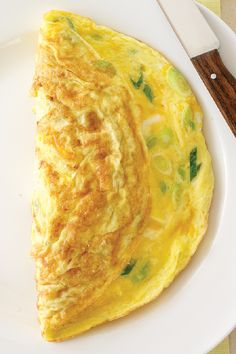 Creamy No-Fail Omelet – Simply adding a bit of cream cheese to the eggs is the secret to making this omelet recipe fluffy and flavorful for your family.