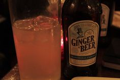 Ginger Beer ist immer gut!