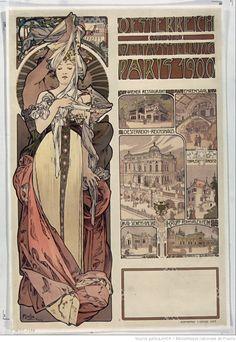 Oesterreich auf der Weltausstellung Paris 1900 [...] : [affiche] / Mucha