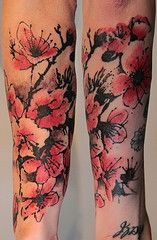 Cherry_Blossom_Ink_Tattoo | Flickr - Photo Sharing!