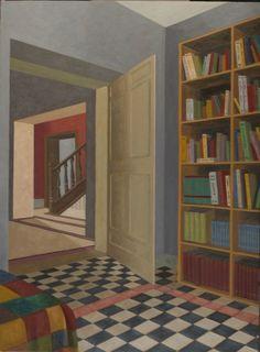 Stephen McKenna | Interior with books