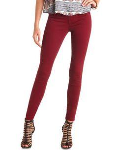 "Refuge ""Skin Tight Legging"" Colored Skinny Jeans: Charlotte Russe"