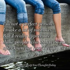 I am not a perfect person