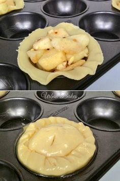 How to make Easy Mini Apple Pies.  Recipe for FOUR. | URBAN BAKES