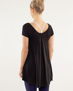 My new top. Picked it up at Lululemon...love it! Comfy cashmere and covers the bum.