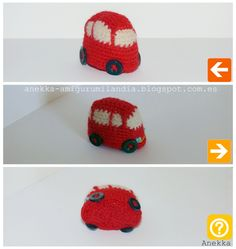 crochet mini car
