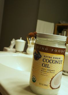 Coconut oil - a solution to dry, cracked hands by molly pg, via Flickr
