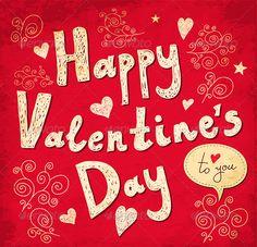 Valentine Greeting Card | Valentine greeting cards, Valentines ...
