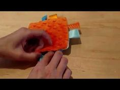 How to sew a crinkle toy with Twigs and Tweets - YouTube