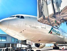 #Viaggiare è vivere.  To #travel is to live. (Christian Andersen) #Alitalia #travel #destination #airport #airplane #departure #arrival