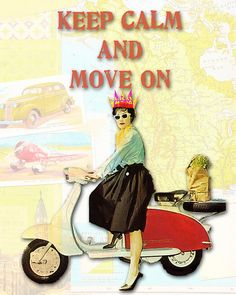 Move On Already! by Sweet Serendipity By A, via Flickr