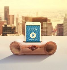 Bamboo Speaker Bamboo Ideas, Bamboo Art, Bamboo Crafts, Wood Crafts, Diy Crafts, Wooden Speakers, Bamboo Products, Bamboo Design, Wood Design
