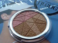 Lirene Shiny Touch Mineral Bronzer&Blush Puder brązująco-modelujący twarz