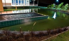 Swimming pools, small ponds, hot tubs and waterfalls are wonderful backyard ideas that make homes more comfortable and beautiful Natural Swimming Ponds, Swimming Pools Backyard, Ponds Backyard, Swimming Pool Designs, Backyard Landscaping, Backyard Ideas, Pool House Designs, Pool Waterfall, Japanese Garden Design