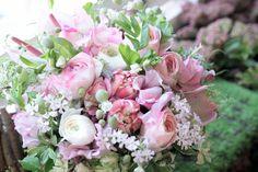 ラナンキュラス/チューリップ/スイートピー/ブーケ/花束/花どうらく/花屋/http://www.hanadouraku.com/bouquet