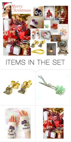 """Christmas gifts."" by stavrosdragatakis ❤ liked on Polyvore featuring art and dragtakisjewellery"