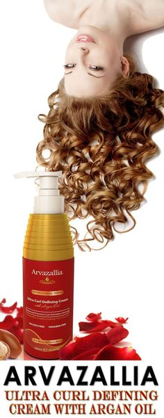 Arvazallia Ultra Curl Defining Cream with Argan Oil is Guaranteed to Give You Beautiful, Soft, Natural Looking, Frizz Free Curls. Click Here Now To Learn More >> http://www.arvazallia.com/ultracurlcreampinpromo:
