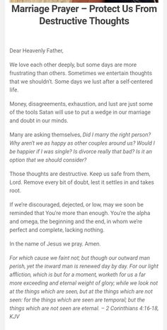 Prayer For My Marriage, Couples Prayer, Marriage Bible Verses, Marriage Help, Biblical Marriage, Prayer Scriptures, Faith Prayer, Marriage Relationship, Love And Marriage