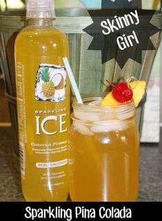 Summer Drink Series: Skinny Girl Sparkling Pina Colada!