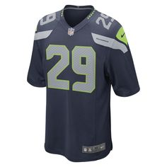 e5c2710e1 ... Nike NFL Seattle Seahawks (Earl Thomas III) Mens Football Home Game  Jersey Size Medium Jacksonville Jaguars ...