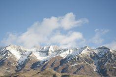 Orem, Utah - where I now call home... love the mountains