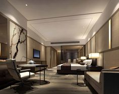 bedroom idea hilton hotels resorts opens hotel in zhongshan chinalooks like a bed in a hallway - Open Hotel Decorating