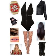 Wrestling Outfits, Wwe Outfits, Women's Wrestling, Themed Outfits, Inspired Outfits, Wwe Halloween Costume, Avril Lavigne Style, Saraya Jade Bevis, Paige Wwe