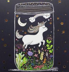 Unicorn Unicorn, Illustration, Painting, Doodles, Art, Spirited Art, Animal Illustration, Artsy, Painted Rocks