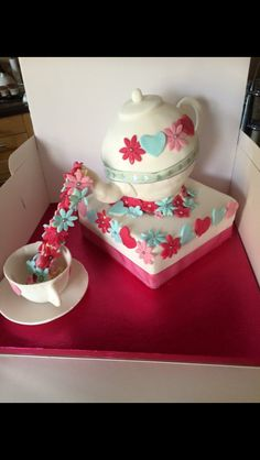 Afternoon tea birthday cake by Butter Hill Cakes