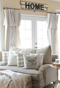 38 Best Farmhouse Living Room Makeover Decor Ideas