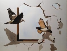 "Saatchi Art Artist Eka Peradze; Painting, ""3D. Eka Peradze. #1.100x80"" #art"
