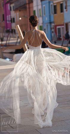 Gali Karten Wedding Dress 2018 - Burano Bridal Collection #weddingdress #bridalgown #weddingdresses