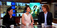 """More than two decades after publishing her first novel, Diana Gabaldon's bestselling """"Outlander"""" series is making it to the small screen. She joins the """"CBS This Morning"""" co-hosts with the stars of the TV series, Sam Heughan and Caitriona Balfe."""