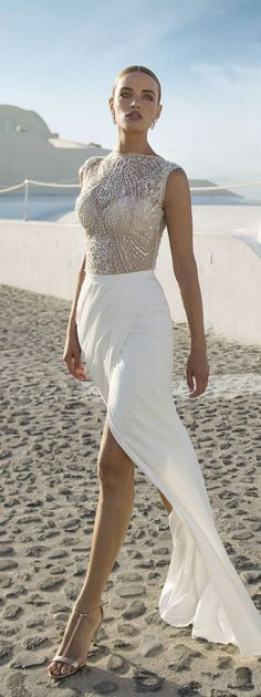 Beach Wedding Dresses by Julie Vino - Santorini Collection 2016