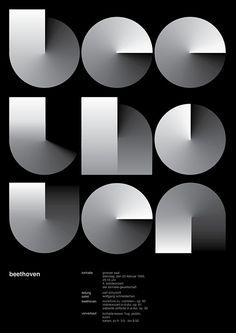 Jessica Svendsen - 100 Days Josef Müller-Brockmann poster variation