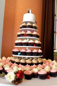 Wedding cake by Cupcakery in T.O.