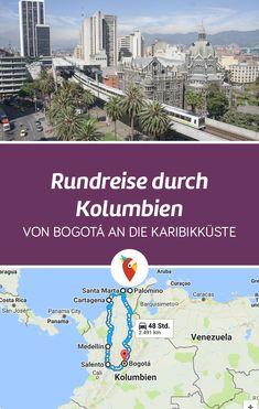Wir haben euch eine Route für einen Roadtrip durch Kolumbien zusammengestellt, die wir selbst getestet haben - alle Tipps via Urlaubspiraten.de