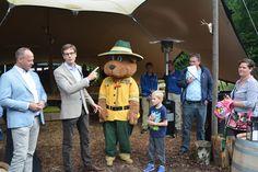 Boomwoning Van Wijnen Recreatiebouw voor Landal Miggelenberg te Hoenderloo - Opening Droomboom 13 juni 2016