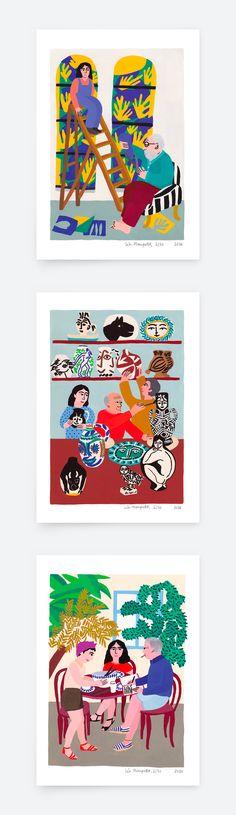 Léa Maupetit - Duhême Collection (prints)